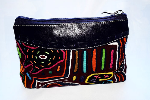 Cosmetic Bag with Mola