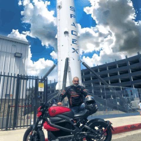 Diego Cardenas Harley-Davidson H-D LiveWire ELW