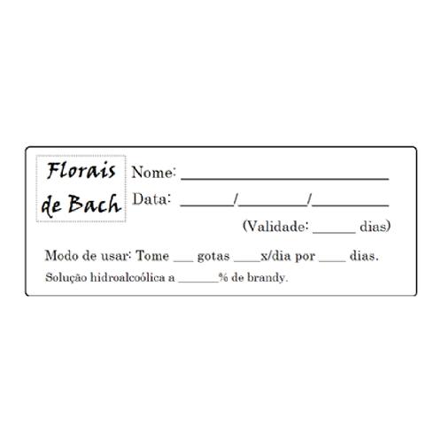 Etiqueta para florais - Folha com 27 unidades