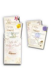 Cartas dos florais de bach