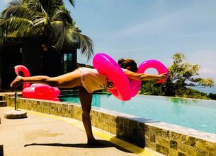 Mit Yoga leicht werden