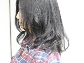 黒髪に似合うゆるふわスタイル!就活中にもオススメです♪