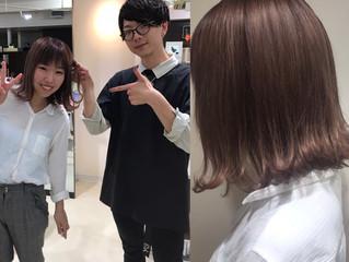 東萌生の生徒さんご来店!