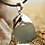 Thumbnail: Seaglass Pendant with Sterling Silver Whale Tale Cap