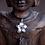 Thumbnail: White 14K Gold Aromatherapy Pendant Necklace
