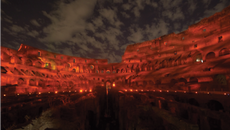Specialist Light-up of Rome Colosseum