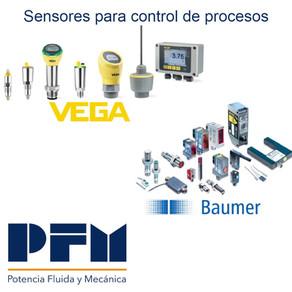 Sensores para control de procesos