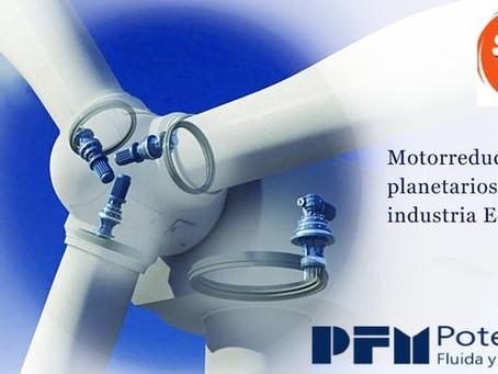 Motorreductor Planetario EX industria eólica.