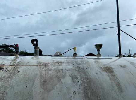 Medición de nivel en tanque de Diesel