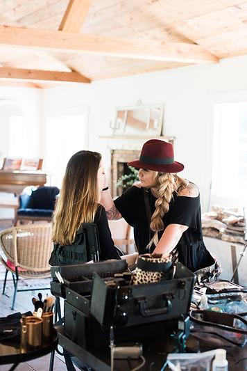 Temecula, CA wedding makeup artist and wedding hair stylist
