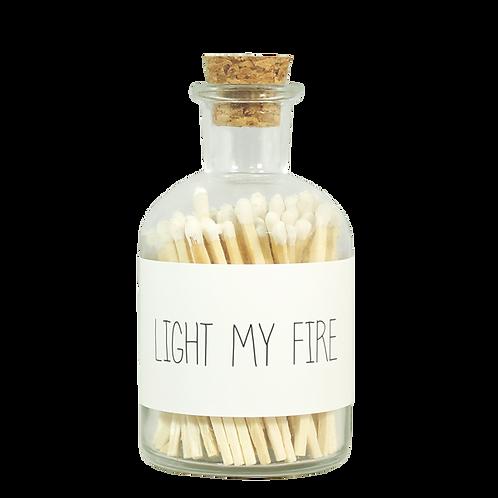 Lucifers I Wit I Light my Fire