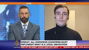Julien Hoez on Al Jazeera.JPG