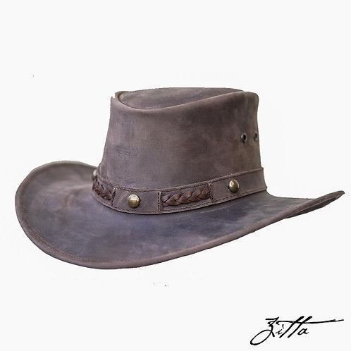 Sombrero de piel Australiano - Estoperoles (3 colores)