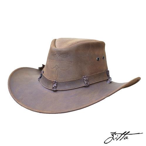 Sombrero de piel Australiano - Barbiquejo (3 colores)