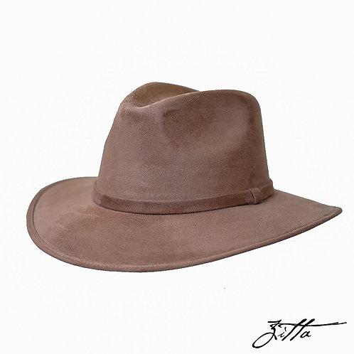 Sombrero de gamuzina (3 colores)