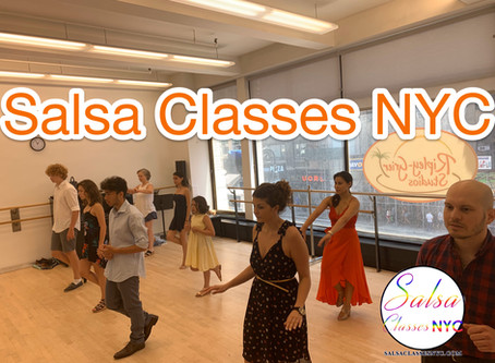 SASLA CLASSES NYC: 5 REASONS WHY YOU SHOULD BE DANCING SALSA!