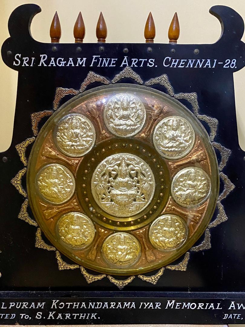 Umayalpuram Kothandarama Iyer Award.jpg
