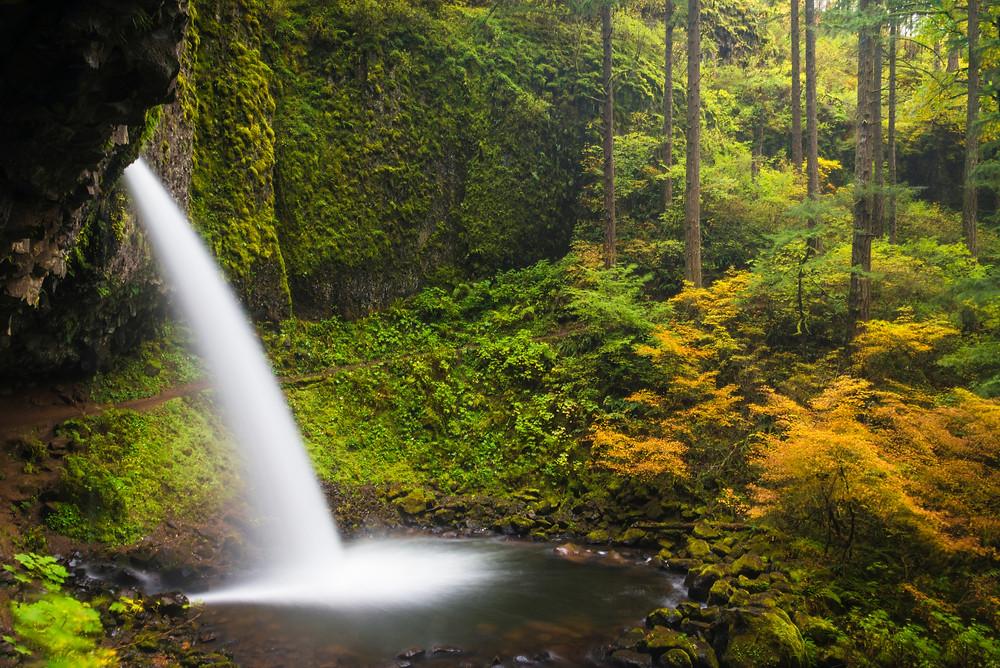 oregon waterfalls horsetail falls