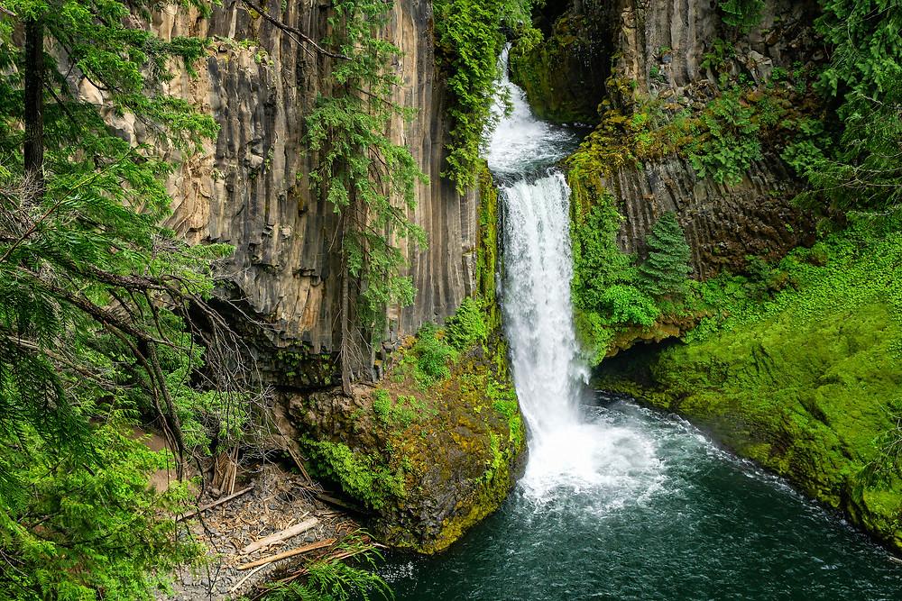 oregon waterfalls toketee falls