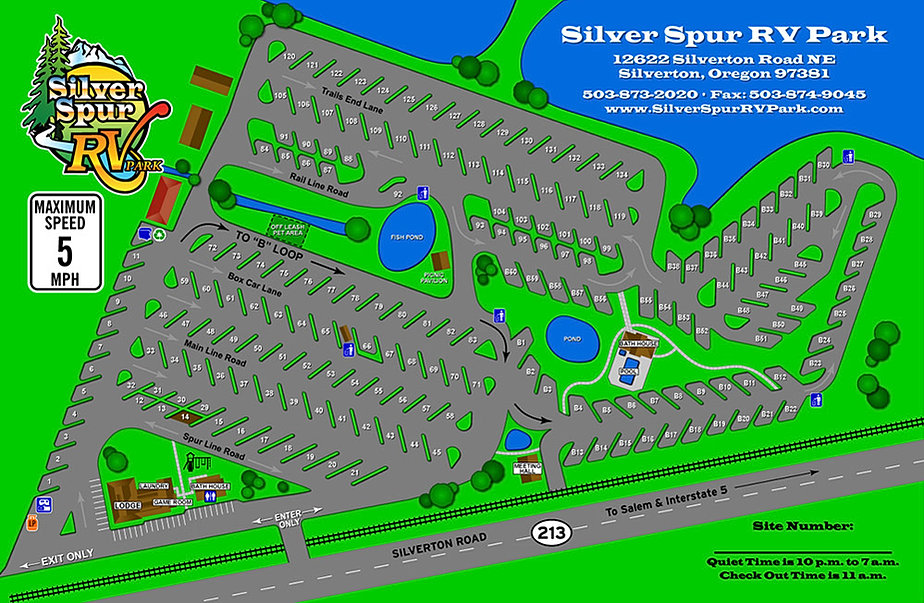 Willamette Valley Rv Parks Silver Spur Rv Park About
