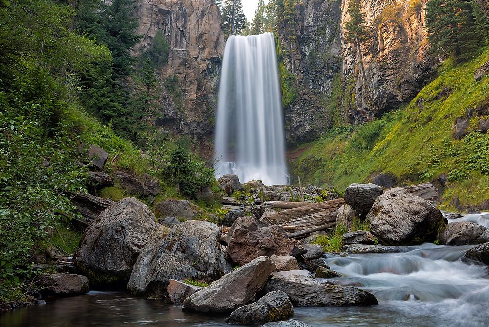 oregon waterfalls tumalo falls