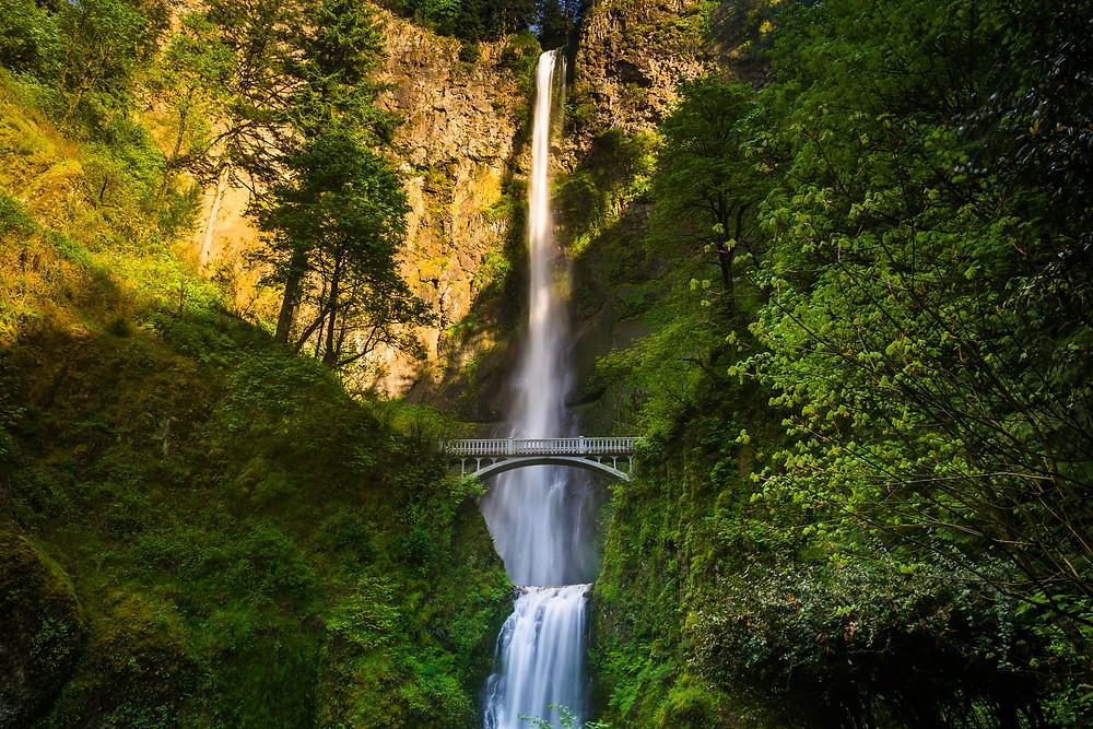 oregon waterfalls multnomah