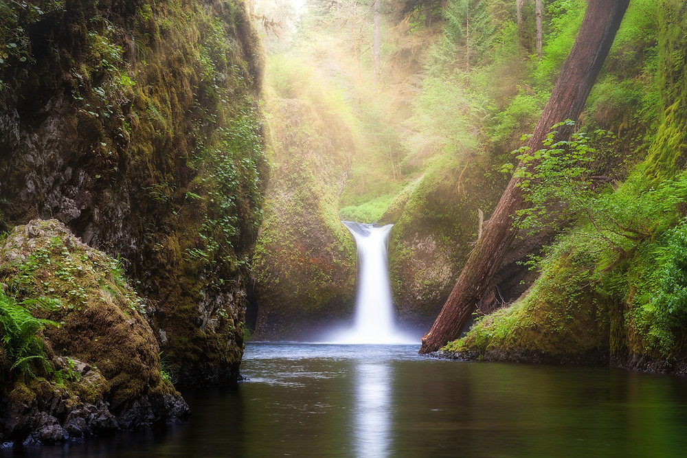 best hike in oregon with waterfalls