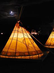 teepee camping oregon