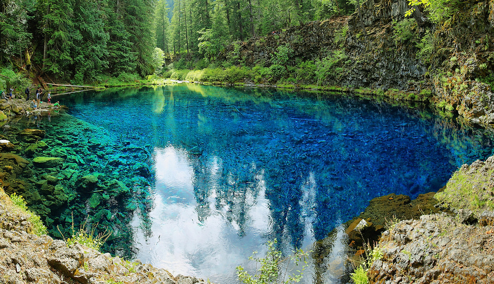 best hikes in oregon with swimming