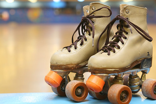 Limpeza e manutenção de patins