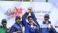 ذهبية كويتية بالبطولة العربية للرماية