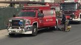 إصابة مواطنة بالاختناق في حريق منزل بمنطقة بيان