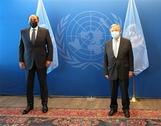 مثل سمو أمير البلاد سمو رئيس مجلس الوزراء يلتقي الأمين العام للأمم المتحدة