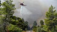 اليونان.. سقوط طائرة إطفاء حرائق ونجاة الطيار