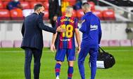 برشلونة يعلن إصابة نجمه جوردي ألبا