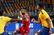 البحرين إلى الدور الثاني في مونديال اليد بالفوز على الكونغو