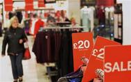 مبيعات التجزئة في بريطانيا تهبط بشكل غير متوقع في أغسطس