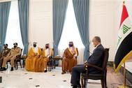 رئيس الوزراء العراقي ووزير الداخلية السعودي يبحثان مكافحة الإرهاب وضبط الحدود