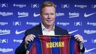 كومان مستمر في تدريب برشلونة