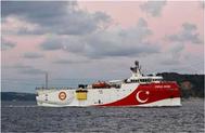 تركيا تمدد عمل سفينة استكشاف بالبحر المتوسط حتى 12 سبتمبر