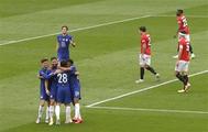 تشيلسي يهزم مانشستر يونايتد بثلاثية ويتأهل إلى نهائي كأس الاتحاد الإنجليزي