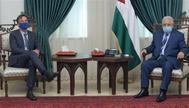 الرئيس الفلسطيني يطالب أوروبا بالضغط على إسرائيل لإجراء الانتخابات بالقدس