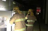 إخماد حريق محدود في محول كهرباء بمنطقة دسمان
