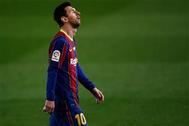 أول رد فعل من برشلونة على عقوبة ميسي القاسية