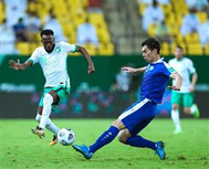 السعودية تسقط أوزبكستان بثلاثية وتتأهل للتصفيات النهائية