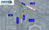 «الطرق»: افتتاح تحويلة مرورية تخدم مشروع تطوير الطرق بجنوب السرة