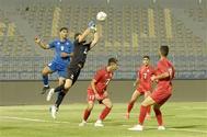 المنتخب الأولمبي يهزم فلسطين بهدف دون رد