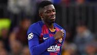 ديمبلي مهاجم برشلونة يخضع لجراحة جديدة بعد إصابة في الركبة