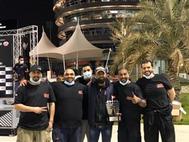 النادي الكويتي للسيارات يحقق نتائج متقدمة ببطولة البحرين لسباقات السرعة