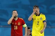 التعادل السلبي يفرض نفسه على إسبانيا والسويد في اليورو